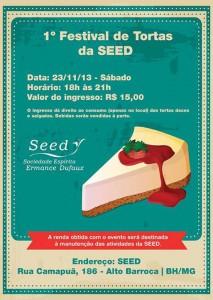 SEED promove festival de tortas