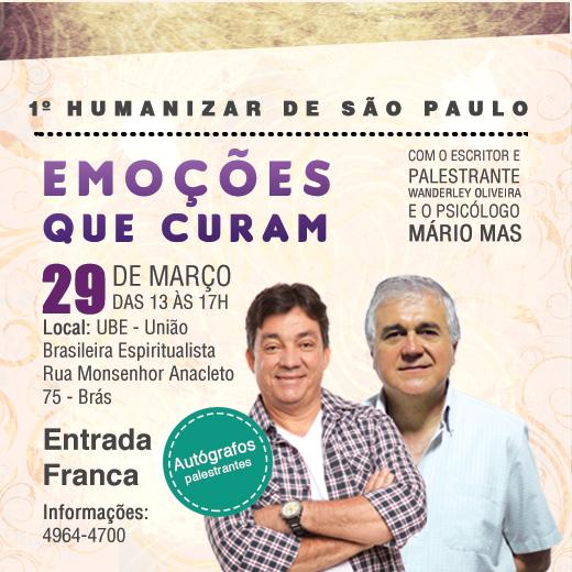 Humanizar São Paulo Wanderley Oliveira Mario Mas