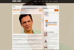SAMUEL GOMES | Conheça o blog oficial