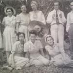 Modesto, Dr. Inácio ferreira (ao lado) e amigos