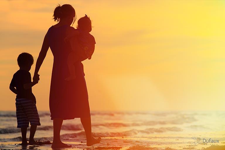 Significado do amor materno na vida do Espírito