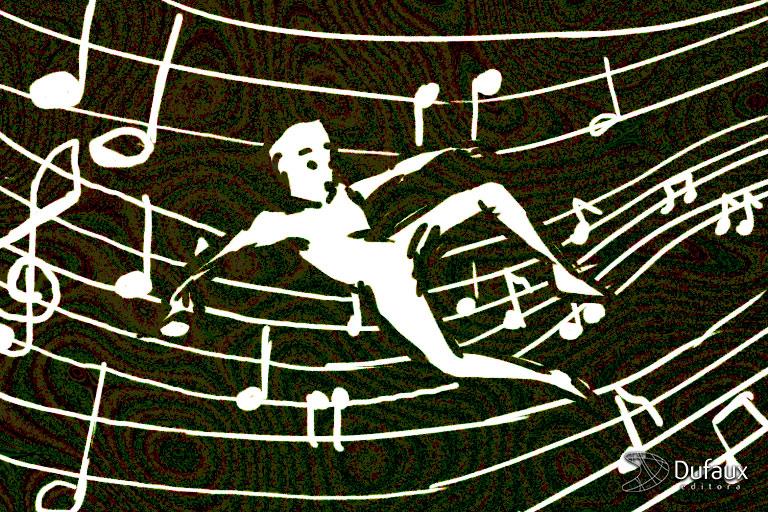 dentro da música